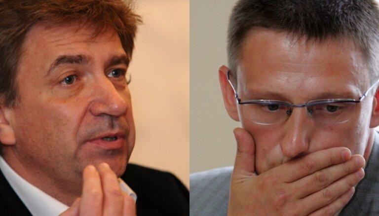 Digitālās TV lietā apsūdzētie Ēķis un Liepnieks izvēlas liecināt rakstveidā
