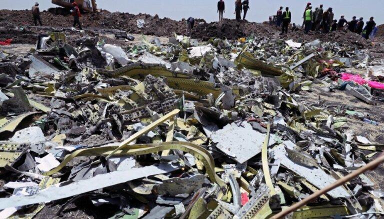 'Ethiopian Airlines' aviokatastrofā bojāgājušo vidū bijis vismaz 21 ANO darbinieks