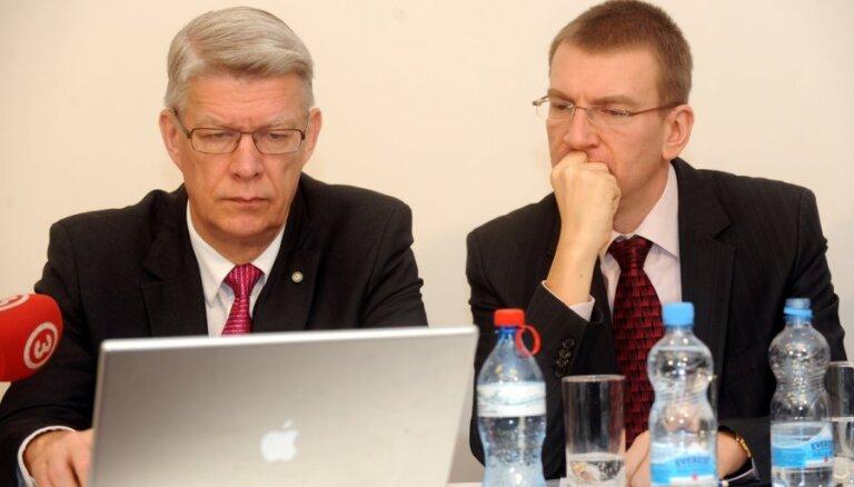 Ārlietu ministrs Rinkēvičs iestājas ZRP