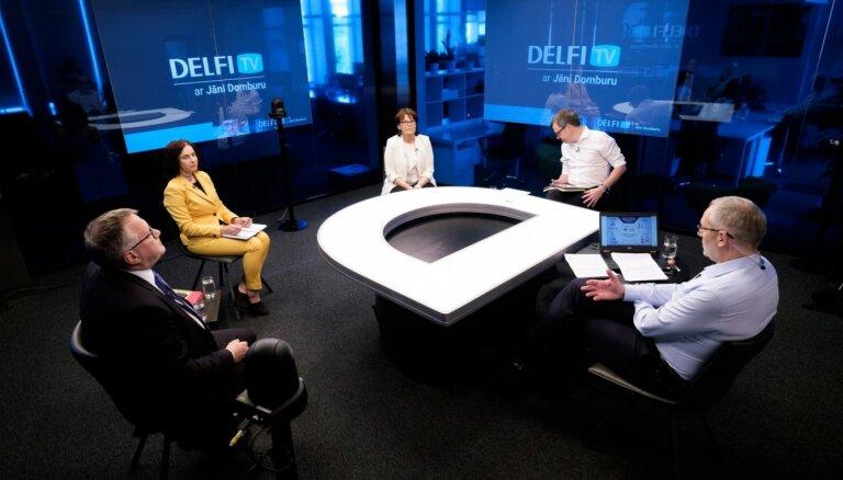 'Delfi TV ar Jāni Domburu' diskusija 'Augstskolu reforma – politiska kontrole vai ceļš uz izcilību?'