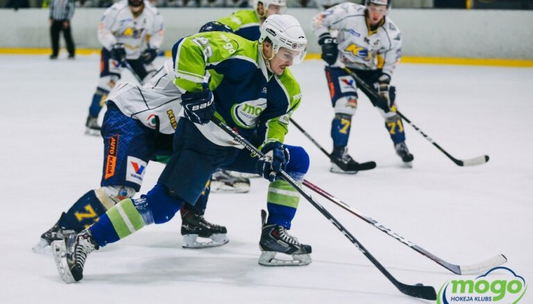 'Mogo' hokejisti OHL fināla otrajā mačā 'bullīšos' uzvar 'Kurbadu'