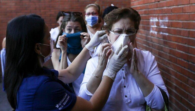 'Covid-19': Ņujorkā slēgs ēdināšanas vietas; Venecuēlā karantīna, Peru un Argentīna slēdz robežas