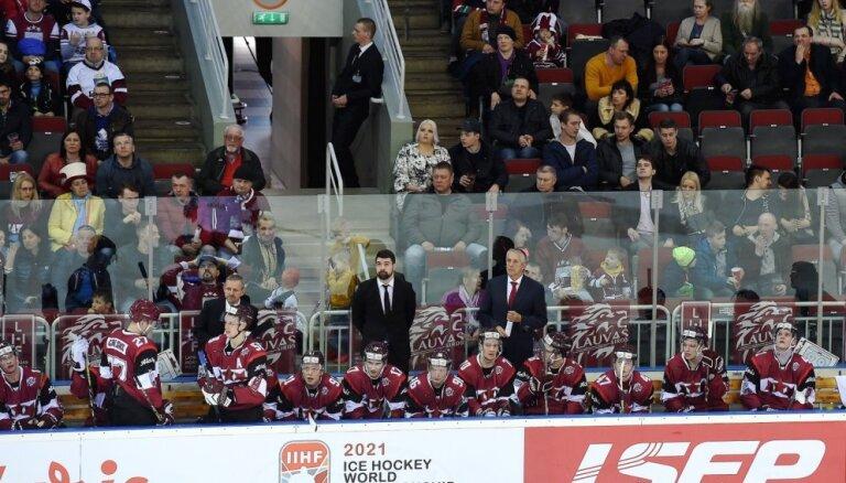 Latvijas hokeja izlases otrajā mačā pret Krieviju debitēs Golovkovs un Gricinskis