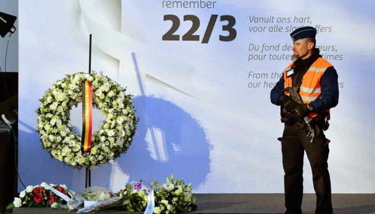 Beļģija piemin pirmo gadskārtu kopš Briseles teroraktiem