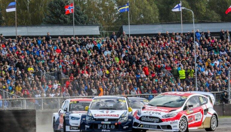 Vēl šogad sāks tirgot biļetes uz 2017. gada 'World RX' Latvijas posmu