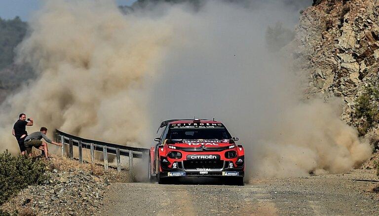 Turcijas WRC posms pārcelts nedēļu uz priekšu