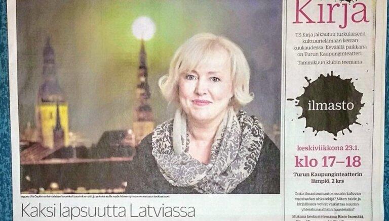 Somijas laikraksts atzinīgi novērtē latviešu literatūru