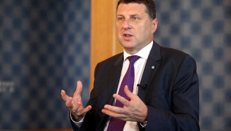 Вейонис: Латвия сильна настолько, насколько сильно желание ее защищать