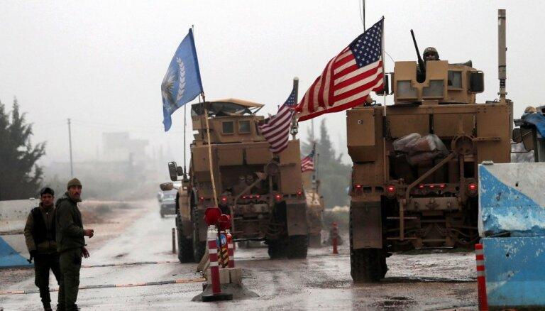 ASV nav grafika karavīru izvešanai no Sīrijas