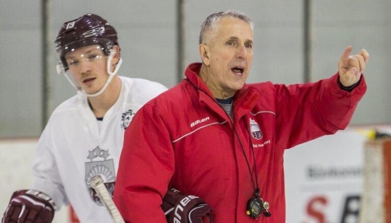 Hārtlijs: skatoties hokeju, latviešiem pievēršu īpašu uzmanību