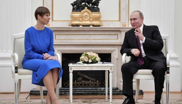 Спикер парламента Эстонии: надеюсь, Путин в Тарту не приедет. Кальюлайд совершила ошибку, пригласив его