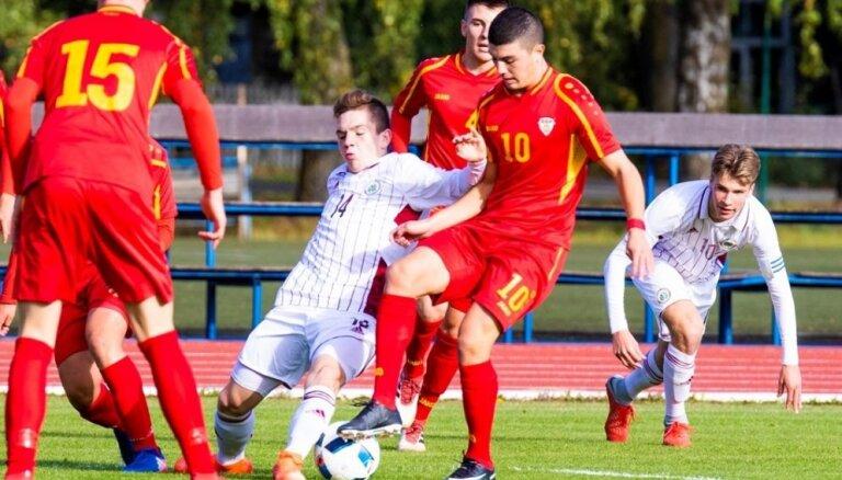 Latvijas U-17 izlases futbolisti izrauj neizšķirtu pret Krieviju Federācijas kausa pēdējā spēlē