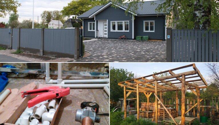 No remontiem līdz māju būvniecībai: pašmāju pieredzes stāsti