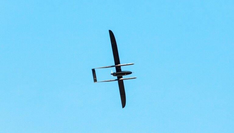 Pazudušā drona dēļ noteikti ierobežojumi Latvijas gaisa telpas izmantošanā