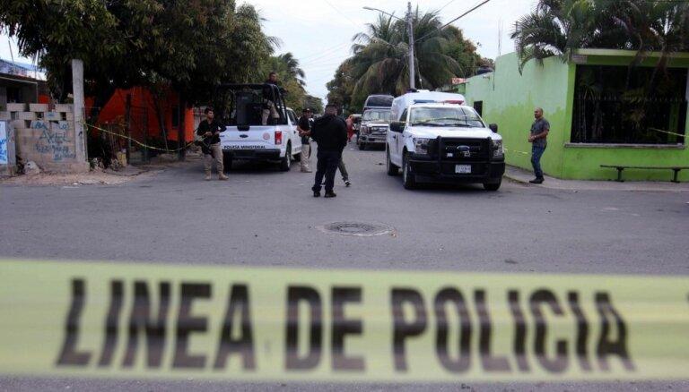 Meksikā pērn noslepkavots rekordliels cilvēku skaits