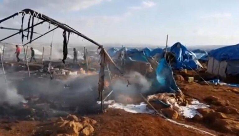 Французская авиация разбомбила деревню в Сирии: 164 погибших