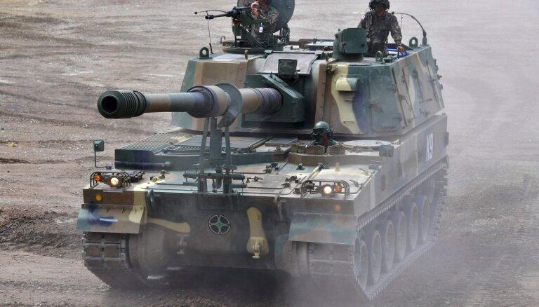 Igaunija no Dienvidkorejas iegādāsies vēl sešas haubices K9
