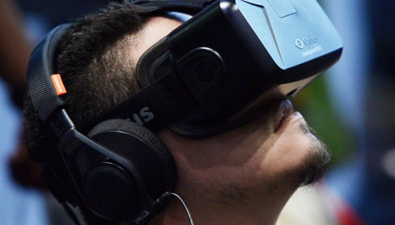 Viss par 'Oculus Rift' – virtuālās realitātes ķivere, par kuru runā visos pasaules nostūros