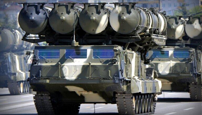 'S-300' piegāde Sīrijai rada militāras eskalācijas risku, norāda Francija