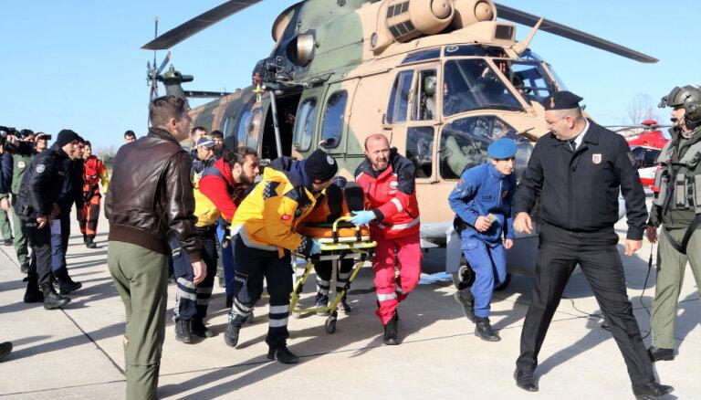 Pie Turcijas krastiem nogrimst ogļu kuģis; seši bojāgājušie