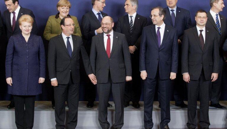 'EUObserver': Starp EK prezidenta amata kandidātiem arī Dombrovskis un Grībauskaite