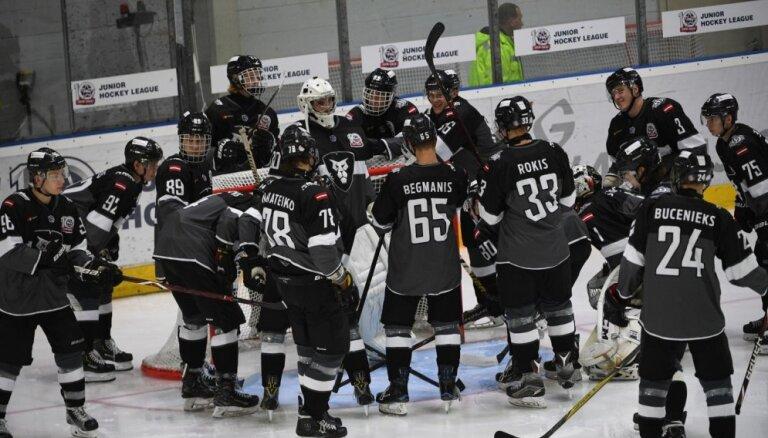 'Rīgas' hokejisti MHL spēlē pārliecinoši uzvar 'Amurskije Tigri'