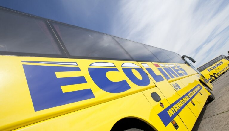 'Ecolines' atsāk regulārus reisus no Rīgas uz Vāciju un Nīderlandi