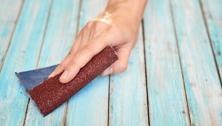 Palīgs arī burciņu atvēršanā: kā ikdienas darbos pielietot smilšpapīru