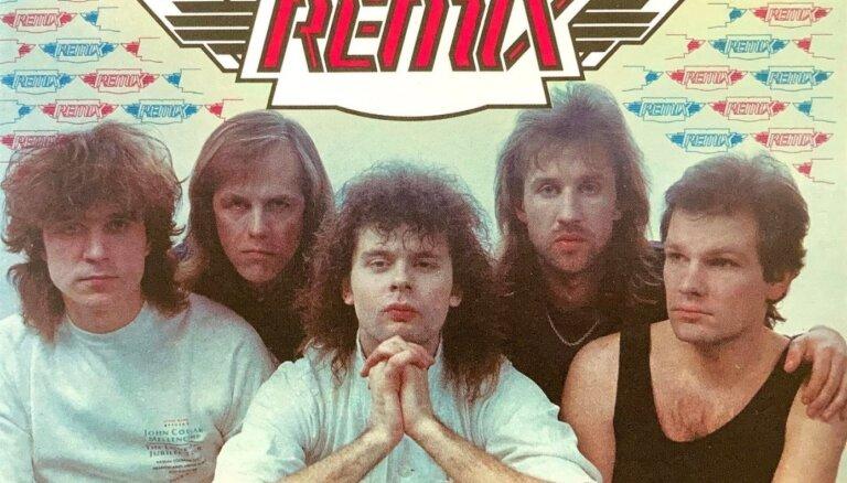 Grupas 'Remix' leģendārā skaņuplate '...pie Laika' iznāks CD formātā
