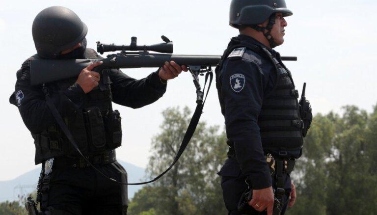 Vardarbības līmenis Meksikā pirmajā ceturksnī sasniedzis jaunu rekordu