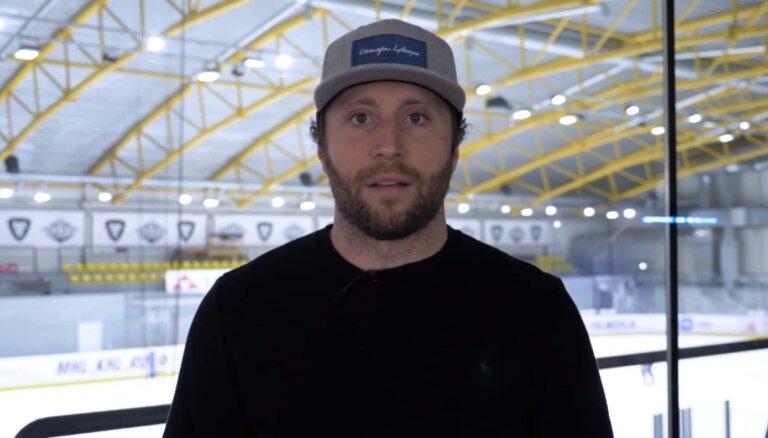 Video: 'Dinamo' uzbrucējs Makmilans analizē Latvijas amatieru līgas vārtu guvumus