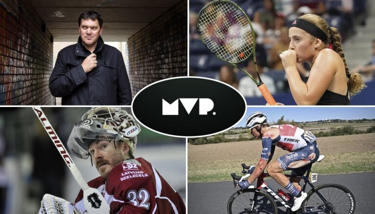 'MVP': Ostapenko un pātaga, sērga kolhozā un 'oskari' hokeja leģionāriem