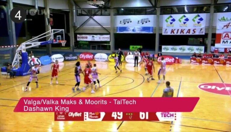 'OlyBet' basketbola līgas nedēļas TOP 5 (20.12.2018.)