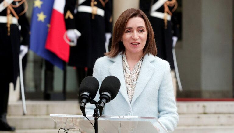 Партия президента Санду победила на парламентских выборах в Молдове