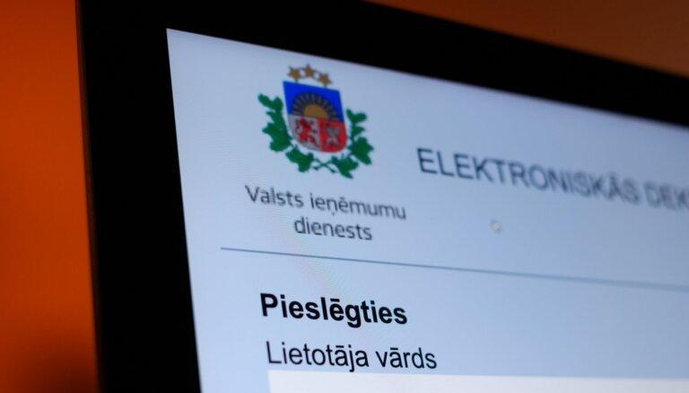 VID gada ienākumu deklarācijas aicina iesniegt elektroniski un nesteigties to darīt marta pirmajās dienās