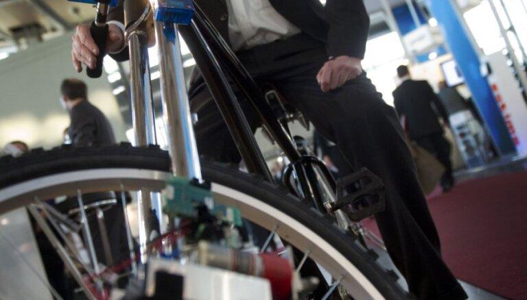 CeBIT 2012: беспроводные тормоза для велосипеда