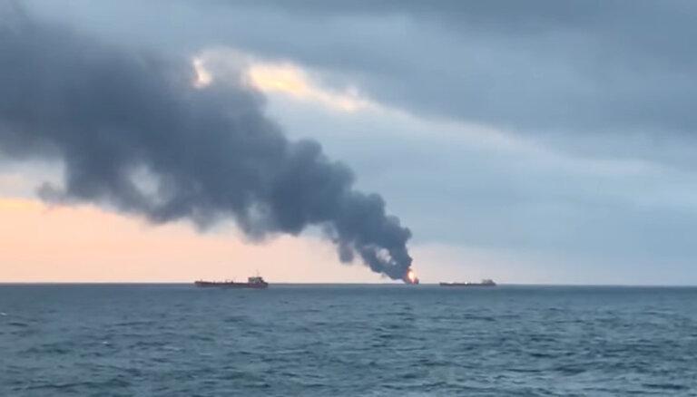 Спасатели не ищут выживших после пожара на судах в Черном море: несколько людей пропало без вести