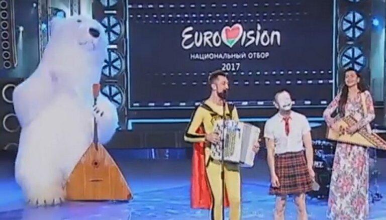"""ВИДЕО: Дуй на меня, дуй! В соцсетях потешаются над белорусским отбором на """"Евровидение"""""""