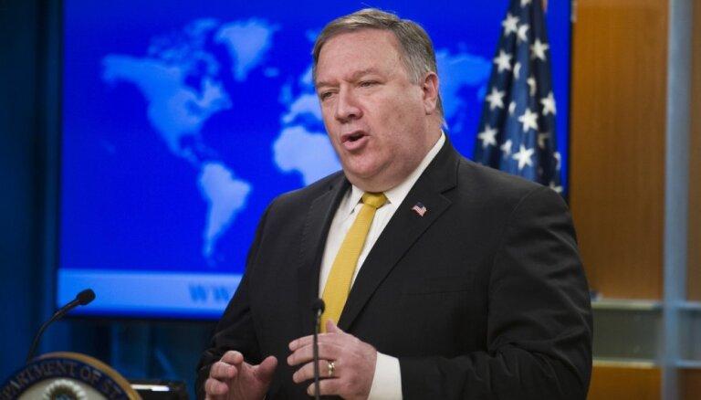 Ziemeļkoreja pieprasa Pompeo atsaukšanu no denuklearizācijas sarunām