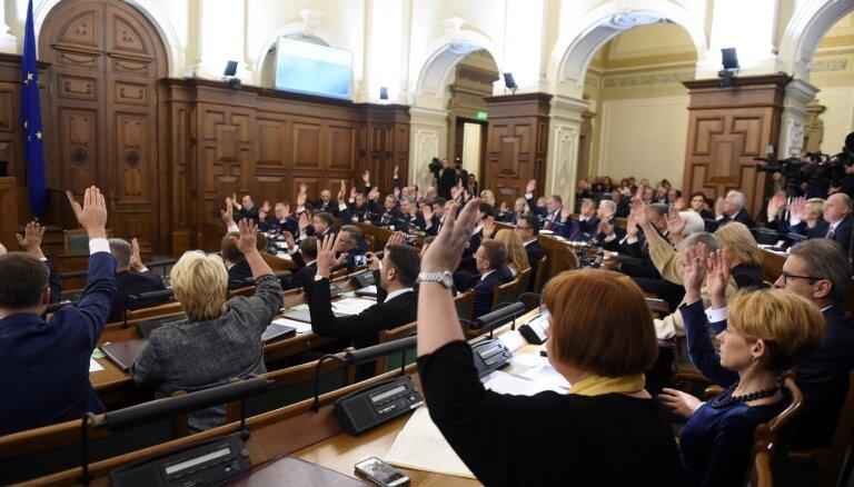 Законопроект о роспуске Рижской думы начал свой путь в Сейме