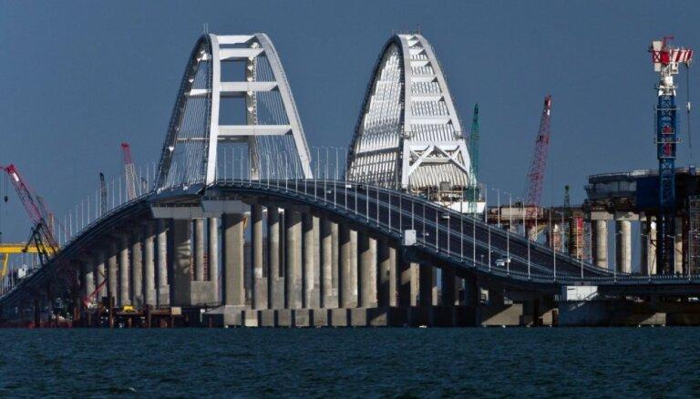 ЕС ввел санкции против российских компаний за строительство Крымского моста