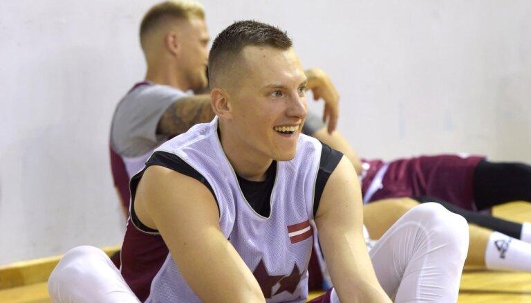 Kaspars Vecvagars pievienojas Latvijas basketbola izlasei