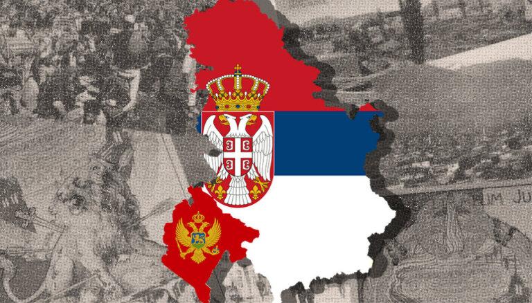 Kā valstiskuma zaudēšana pirms 100 gadiem turpina šķelt Serbiju un Melnkalni