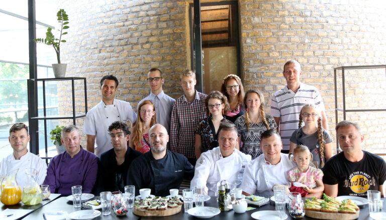 Latvijas restorāni palīdzēs gādāt skolas lietas SOS ciematos dzīvojošajiem bērniem