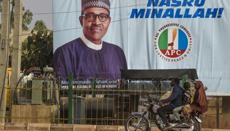 Nigērijas prezidenta un parlamenta vēlēšanas atliktas par vienu nedēļu