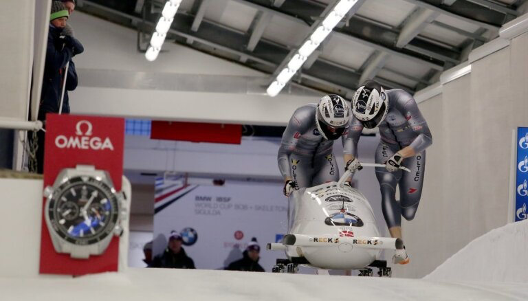 Skatītāji nevarēs apmeklēt Pasaules kausa sezonas ievadu bobslejā un skeletonā Siguldā