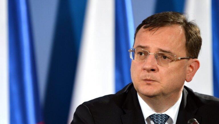Правительство Чехии ушло в отставку из-за расследования коррупции