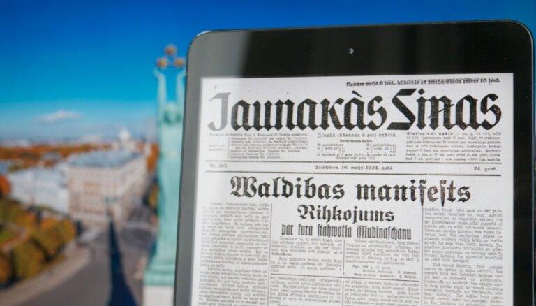 'Ar šo tiek izsludināts kara stāvoklis visā Latvijā': aprit 80 gadi kopš Ulmaņa apvērsuma