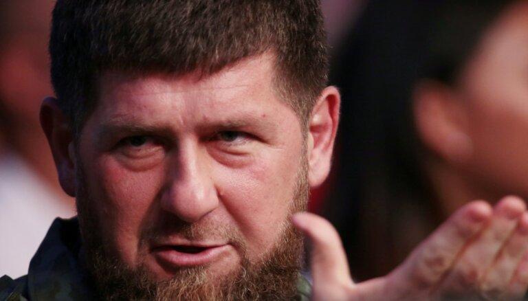 'Instagram' atkal bloķē Kadirova kontu