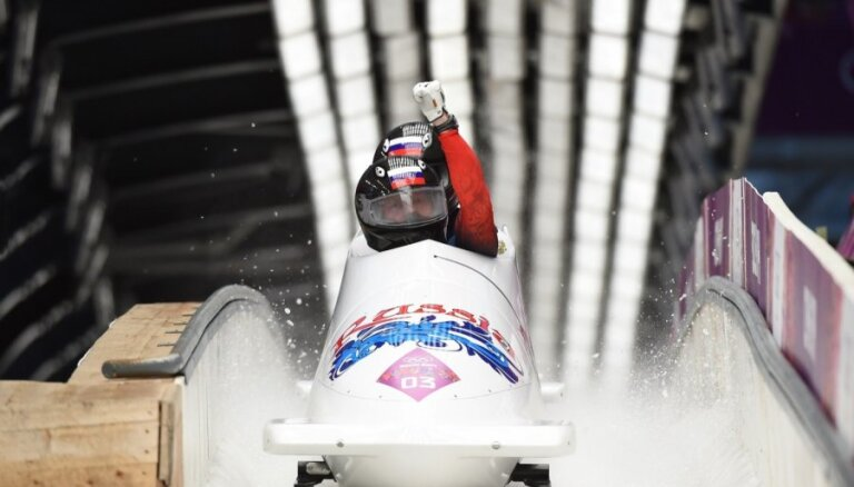 IBSF piespriež pagaidu diskvalifikāciju arī Čudinovam, Zubkovam un vēl trim Krievijas bobslejistiem